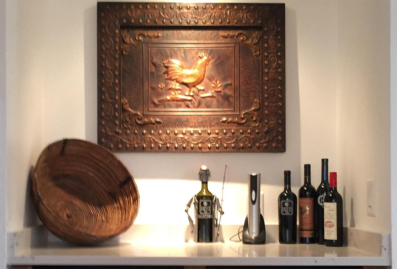 Tucson Cabinets & Stoneworks dry bar (image)
